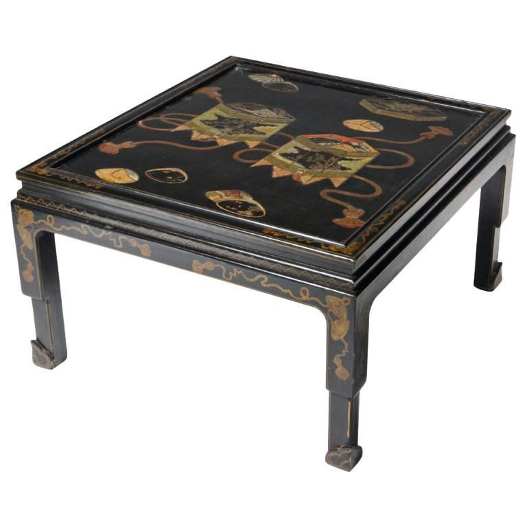 Chinese Lacquered Coffee Table For Sale At 1stdibs