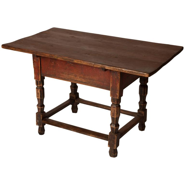 19th Century Rustic Low Table