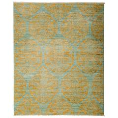 Yellow Eclectic Area Rug, Solo Rugs