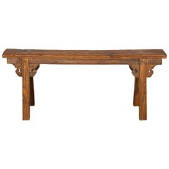 Classic Two Person Chinese Bench, circa 1900