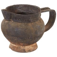 Tibetan Cast Iron Pitcher, 19th Century