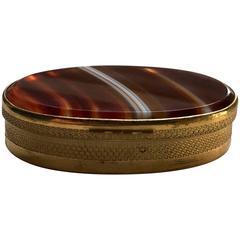 Louis XVI Agate Snuff Box