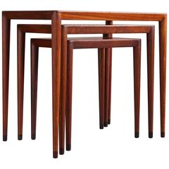 Danish Nesting Tables by Erik Riisager Hansen