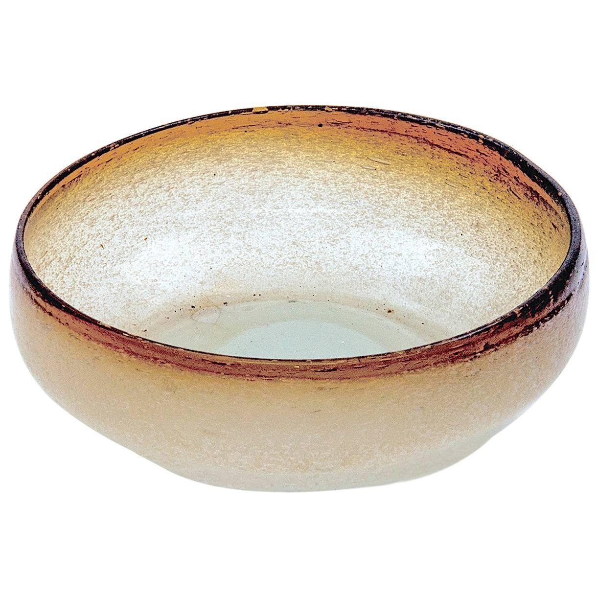 Murano Italian, 1950 Glass Bowl or Ashtray