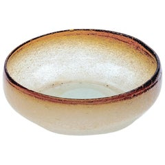 Murano Italian, 1950 Glass Bowl or Ashtray