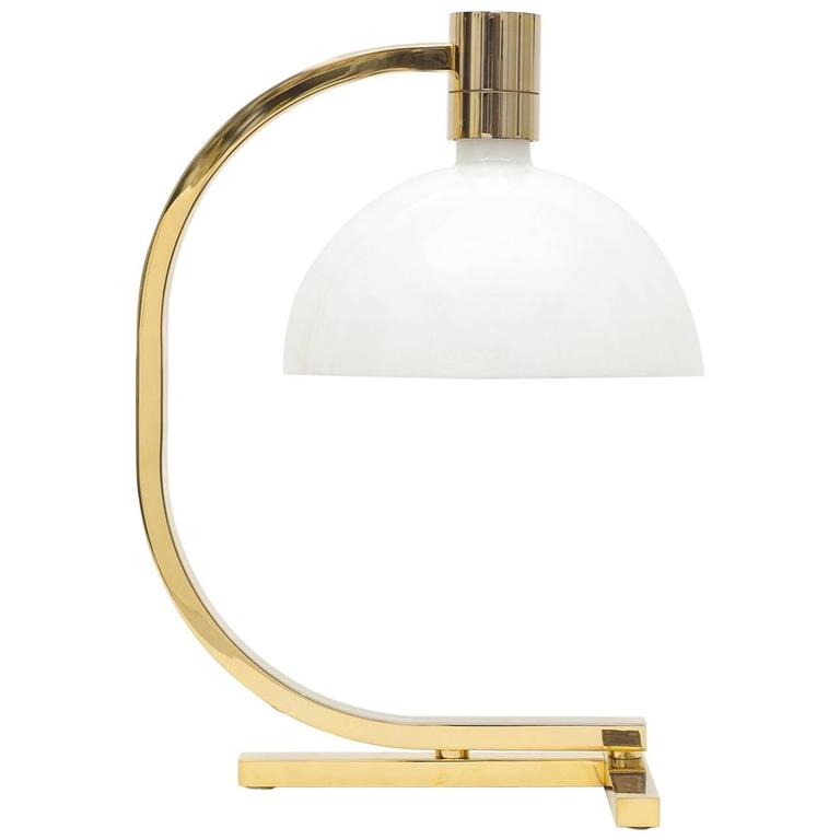 Gold-Plated AM/AS Table Lamp by Franco Albini, Antonio Piva and Franca Helg 1