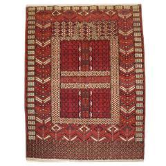 Antique Tekke Turkmen Ensi of Traditional Design with Excellent Color circa 1900
