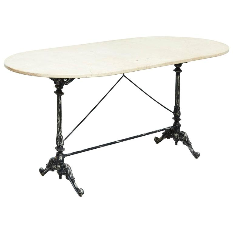 French Marble Table, circa 1950