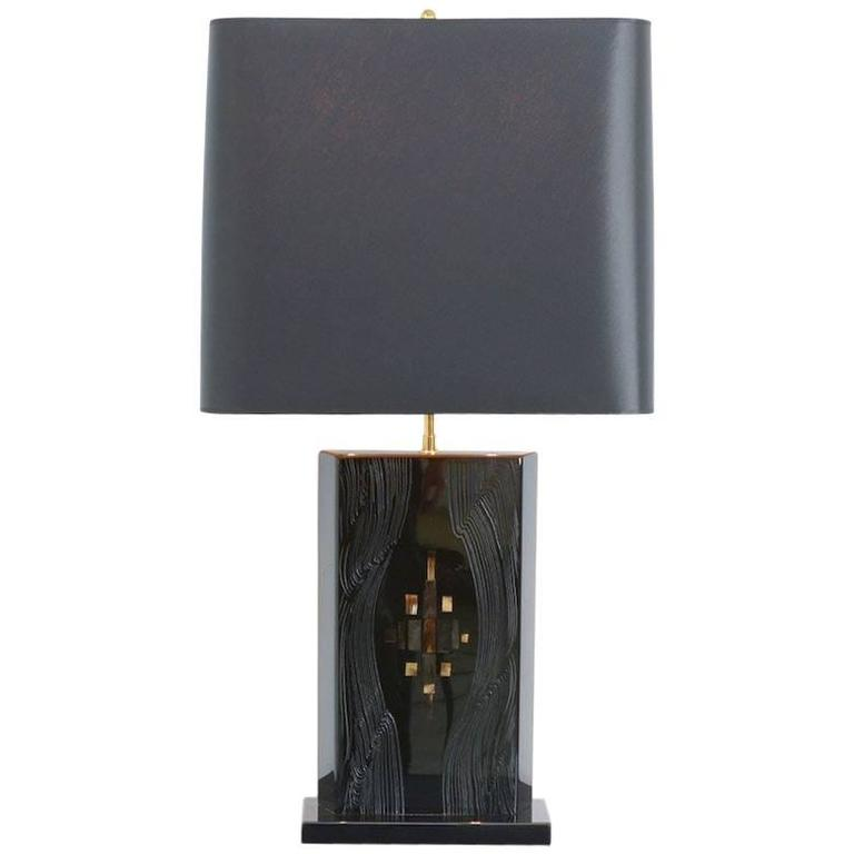 Exclusive Table Lamp by Fernand Dresse