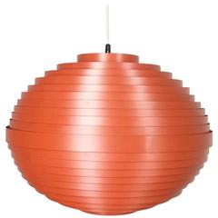 Extra Large Austrian Hanging Lamp, 1960s, Mid-Century Modern