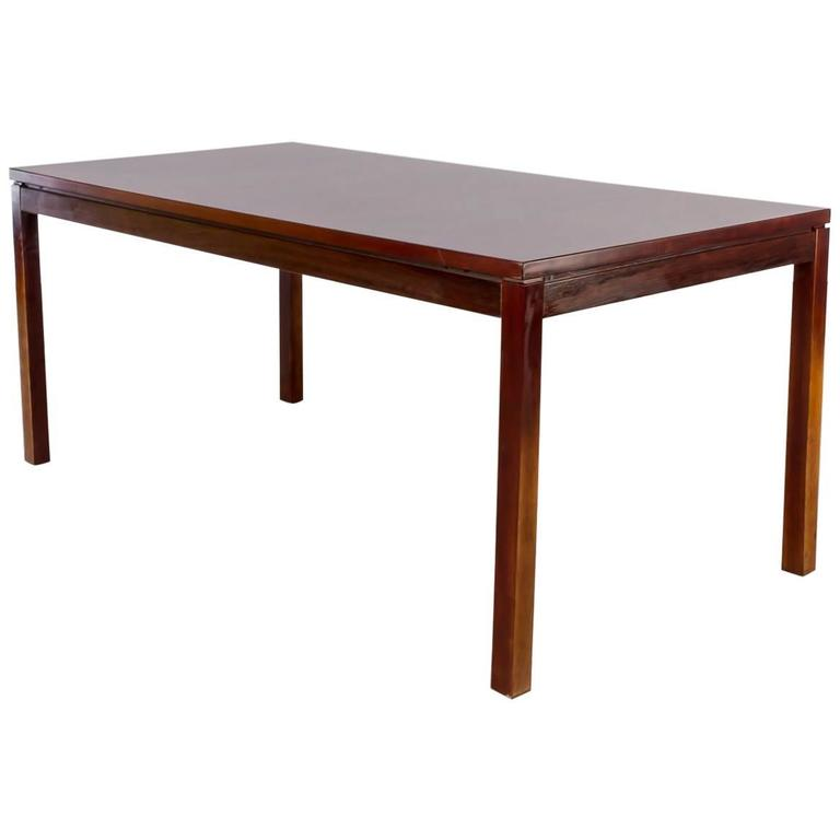 1970s Oswald Vermaercke Rosewood Dining Table, Extendable for V-Form