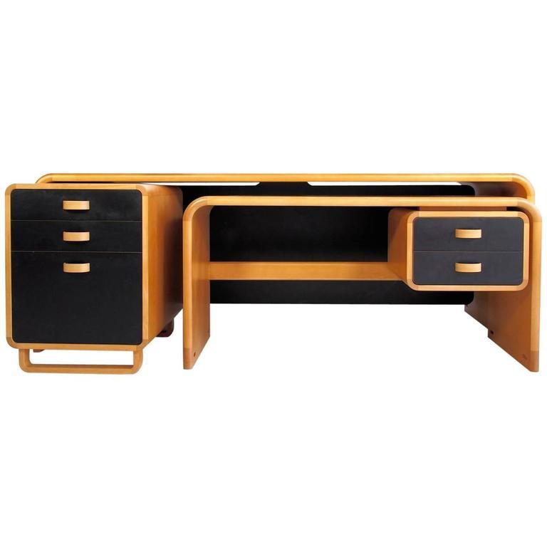 Rud Thygesen Johnny Sorensen Beech Desk By Magnus Olesen For