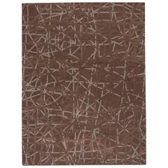 Gorgeously Contrasted Tufted Rug
