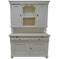 Painted Pine and Oak Buffet