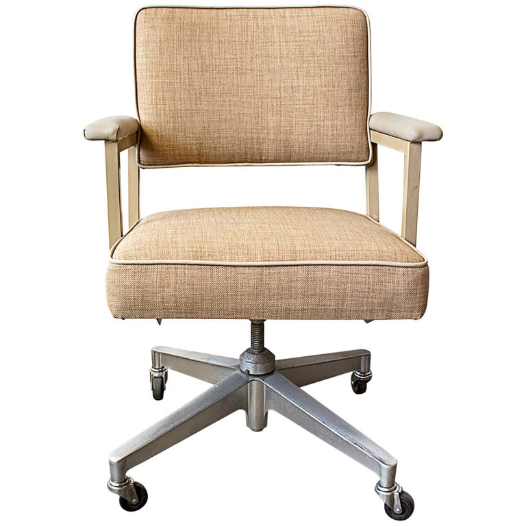 pair of 1970s steelcase office chairs refinished for sale - Steelcase Office Chairs