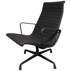 eames leather lounge chair for herman miller