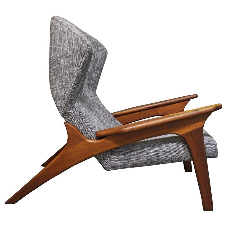 Adrian Pearsall Lounge Chair At 1stdibs