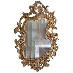 Large 19th Century Rococo Revival Wall Mirror