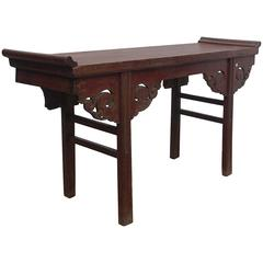 Altar Console Table, Late Qing Dynasty