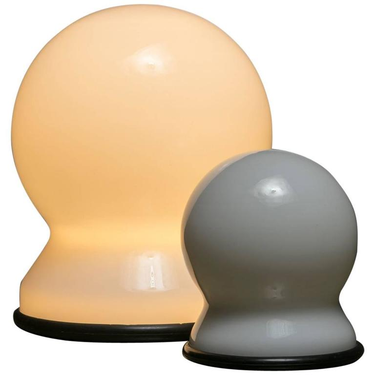 "Pair of ""Scafandro"" Table Lamps by Sergio Asti for Candle"