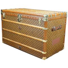 1910s Louis Vuitton Monogram High Trunk