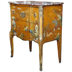 Superb 19th Century Chinoiserie Petite Commode