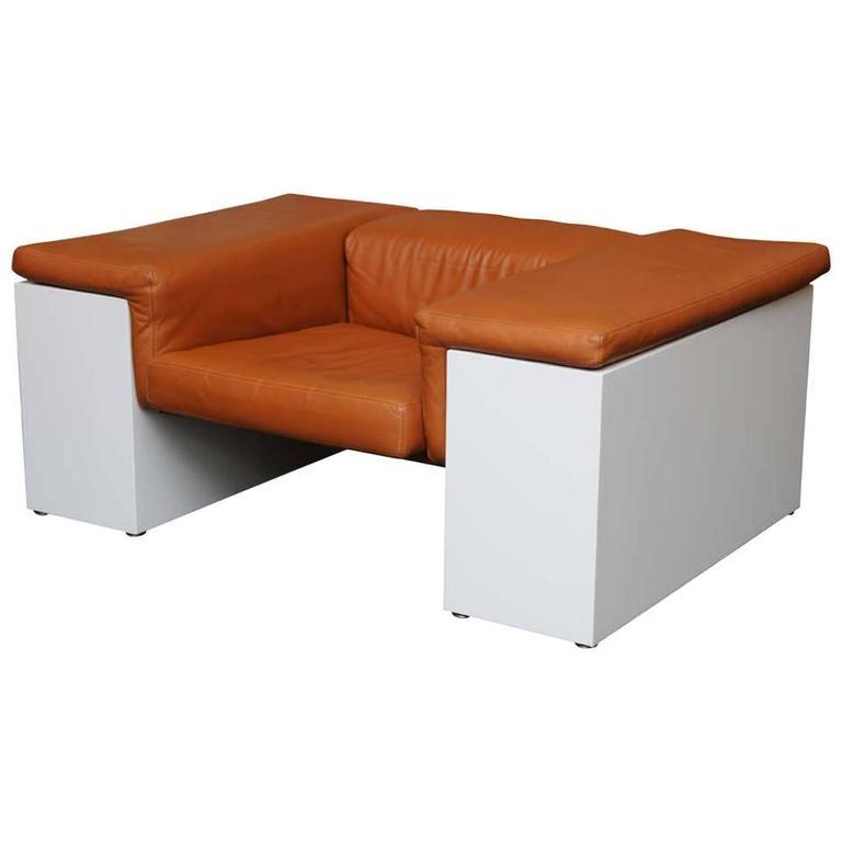Monumental Cini Boeri Brigadier Lounge Chair for Knoll