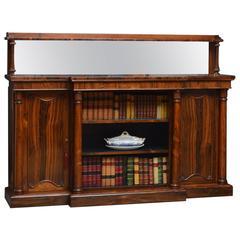 Regency Rosewood Sideboard or Regency Bookcase