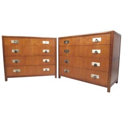 Mid-Century Pair of Michael Taylor for Baker Dressers