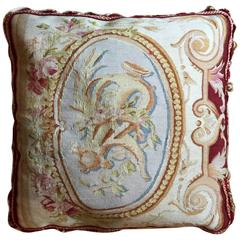 Decorative French Style Aubusson Pillow Cushion