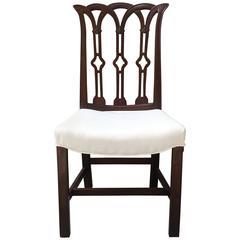 18th Century English Mahogany Side Chair