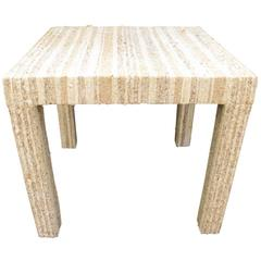 Boucle Parsons Table, 20th Century, American