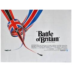 """Battle of Britain"" Film Poster, 1969"