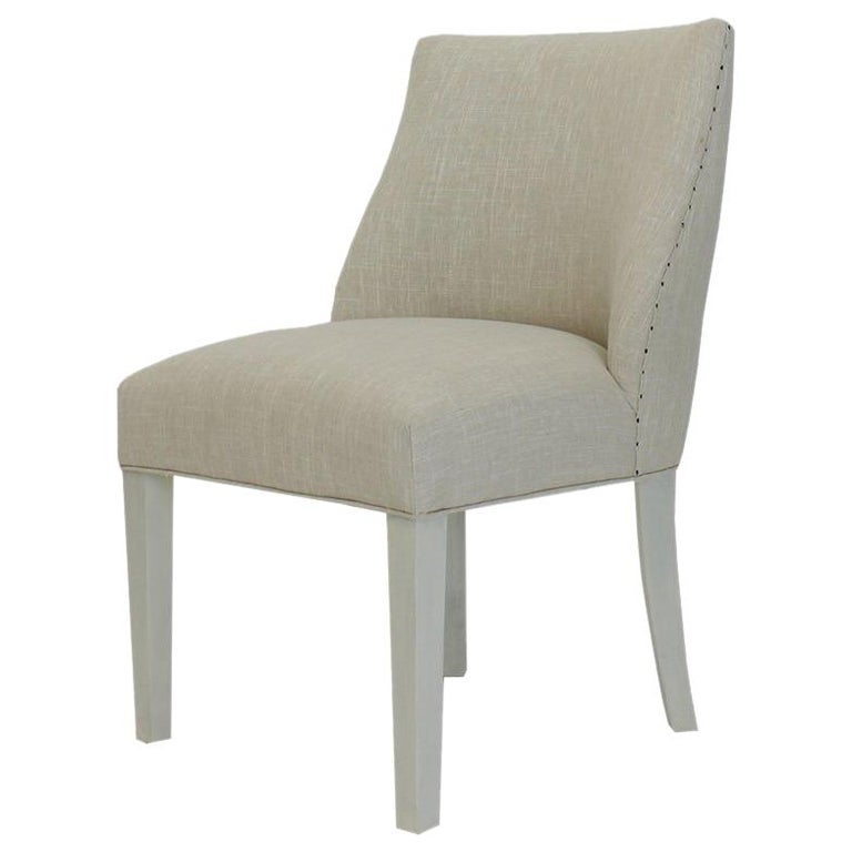 Modern Customizable Dining Room Chair For Sale