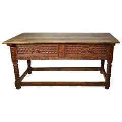 18th Century Spanish Colonial Console Table, Peru