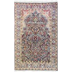 Magnificent Persian Kerman Tree of Life Rug