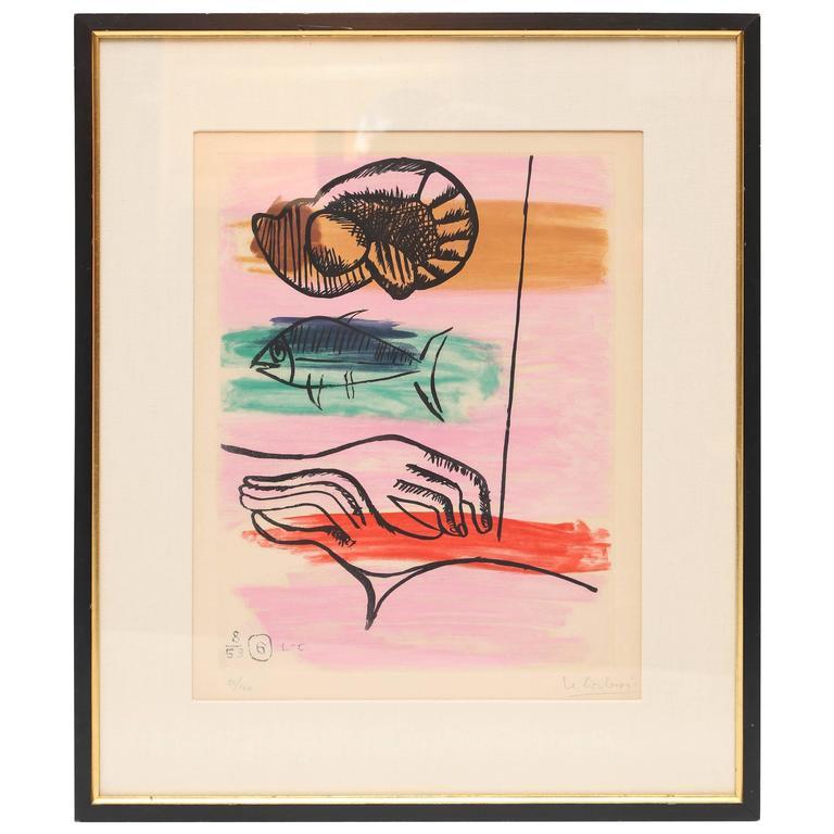 """Le Corbusier """"Unite, Plate 6"""" 1"""
