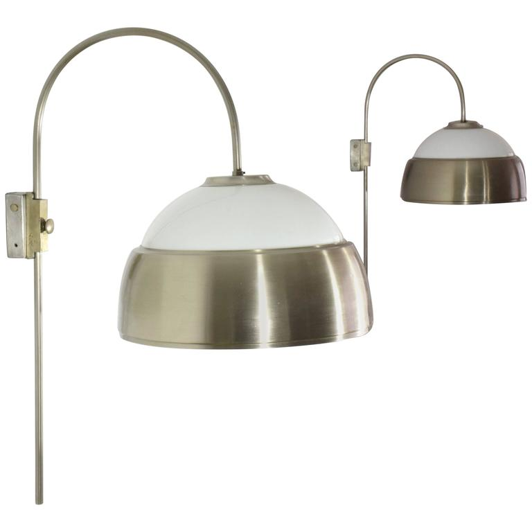 Italian Vintage Wall Lights Attributed to Alessandro Pianon 1960u0027s  sc 1 st  1stDibs & Edwardian Gas Wall Lamp Converted to Electric For Sale at 1stdibs
