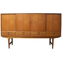 Danish Teak Credenza or Highboard