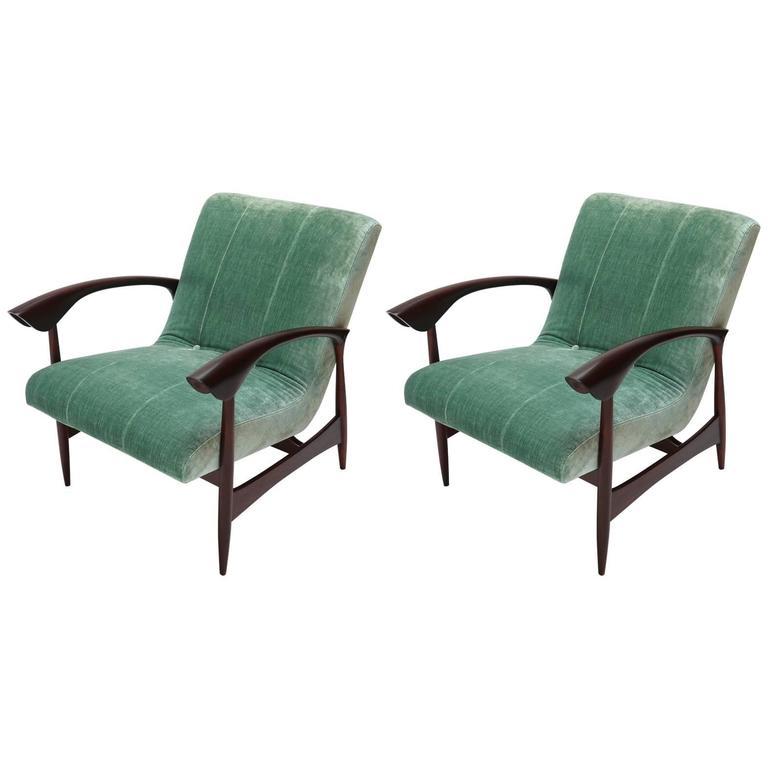 Pair of Brazilian 1960s Armchairs