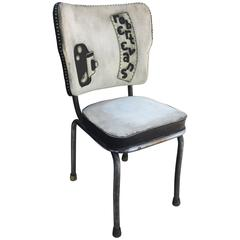 Movie Mogul Robert Evans Salvaged Screening Room Chair