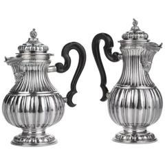 Stresa by Buccellati Sterling Set Tea Coffee Pot