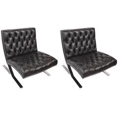 Pair of Barcelona Style Chairs