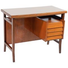 Gio Ponti writing desk for Schirolli Italian Mid-Century 1960