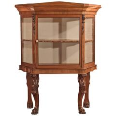 Regency Glazed Display Cabinet, Early 19th Century, circa 1820