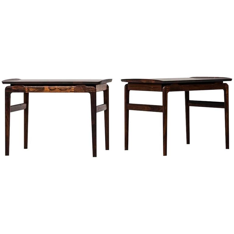 Peter Hvidt & Orla Mølgaard-Nielsen Side Tables by France & Son in Denmark