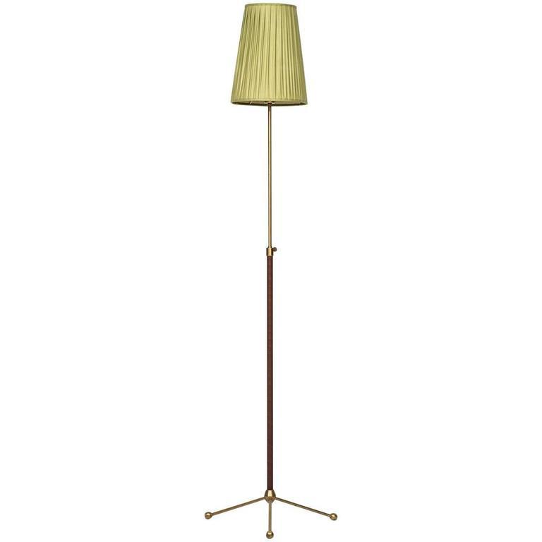 Hans Bergström Floor Lamp Model 544 by Ateljé Lyktan in Sweden For Sale
