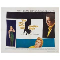 """The Man With The Golden Arm"" Film Poster, 1955"
