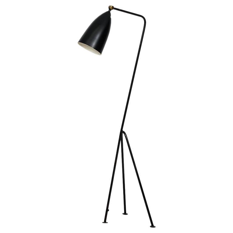 Greta Magnusson Grossman Floor Lamp Model G-33 by Bergboms in Sweden