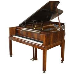 Architect Designed Grand Piano by Denmark's Leading Piano Maker Dated 1929